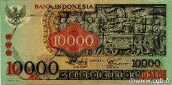 10000 Rupiah INDONÉSIE  1975 P.115 TTB+