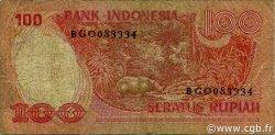 100 Rupiah INDONÉSIE  1977 P.116 B