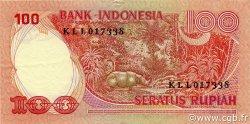 100 Rupiah INDONÉSIE  1977 P.116 SPL