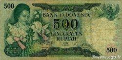 500 Rupiah INDONÉSIE  1977 P.117 TB