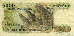 5000 Rupiah INDONÉSIE  1980 P.120 TTB