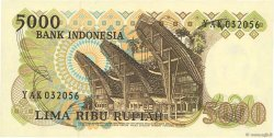 5000 Rupiah INDONÉSIE  1980 P.120 NEUF