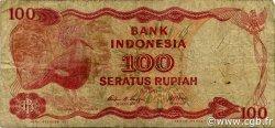 100 Rupiah INDONÉSIE  1984 P.122a TB