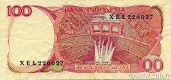 100 Rupiah INDONÉSIE  1984 P.122a TTB à SUP