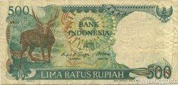 500 Rupiah INDONÉSIE  1988 P.123a TTB