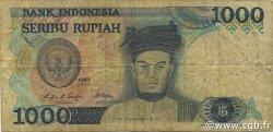 1000 Rupiah INDONÉSIE  1987 P.124a TB
