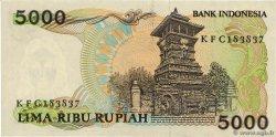 5000 Rupiah INDONÉSIE  1986 P.125a SUP+