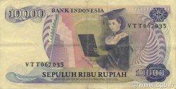 10000 Rupiah INDONÉSIE  1985 P.126a TTB