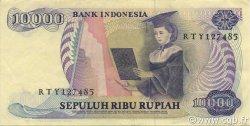 10000 Rupiah INDONÉSIE  1985 P.126a SUP