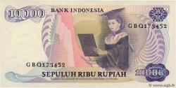 10000 Rupiah INDONÉSIE  1985 P.126a pr.NEUF