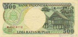 500 Rupiah INDONÉSIE  1997 P.128f SUP