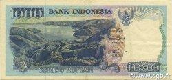 1000 Rupiah INDONÉSIE  1997 P.129f SUP