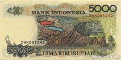 5000 Rupiah INDONÉSIE  1992 P.130a SUP