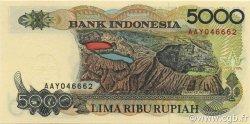 5000 Rupiah INDONÉSIE  1992 P.130a NEUF