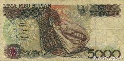 5000 Rupiah INDONÉSIE  1994 P.130c TB