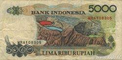 5000 Rupiah INDONÉSIE  1997 P.130f pr.TTB