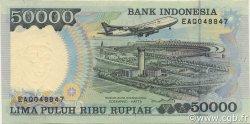 50000 Rupiah INDONÉSIE  1993 P.133a SPL