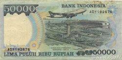 50000 Rupiah INDONÉSIE  1996 P.136b TTB