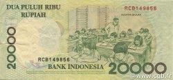20000 Rupiah INDONÉSIE  1999 P.138b TTB+
