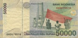 50000 Rupiah INDONÉSIE  1999 P.139a TTB