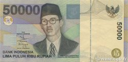 50000 Rupiah INDONÉSIE  2001 P.139c pr.NEUF