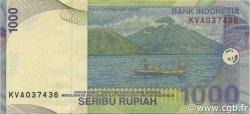 1000 Rupiah INDONÉSIE  2001 P.141b SUP