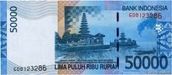 50000 Rupiah INDONÉSIE  2005 P.145a NEUF