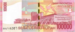 100000 Rupiah INDONÉSIE  2004 P.146a NEUF