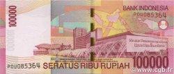 100000 Rupiah INDONÉSIE  2009 P.146e pr.NEUF