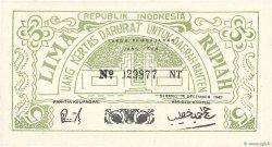 5 Rupiah INDONÉSIE Serang 1947 PS.122 pr.NEUF
