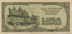 5 Rupiah INDONÉSIE  1948 P.- pr.NEUF