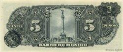5 Pesos MEXIQUE  1943 P.034e NEUF