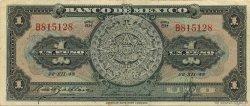 1 Peso MEXIQUE  1948 P.046a TTB