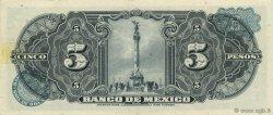 5 Pesos MEXIQUE  1953 P.057a SUP