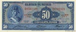50 Pesos MEXIQUE  1967 P.049q NEUF