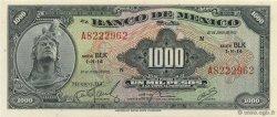 1000 Pesos MEXIQUE  1972 P.052p NEUF