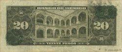 20 Pesos MEXIQUE  1954 P.054c B