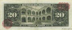 20 Pesos MEXIQUE  1965 P.054l TB