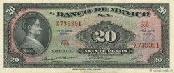 20 Pesos MEXIQUE  1969 P.054n SPL
