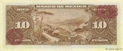 10 Pesos MEXIQUE  1954 P.058a SPL