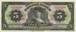 5 Pesos MEXIQUE  1961 P.060g NEUF