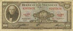 100 Pesos MEXIQUE  1967 P.061d pr.TTB