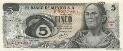 5 Pesos MEXIQUE  1969 P.062a SUP