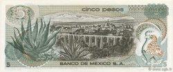 5 Pesos MEXIQUE  1969 P.062a NEUF