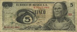 5 Pesos MEXIQUE  1972 P.062c B