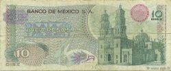 10 Pesos MEXIQUE  1969 P.063a TB