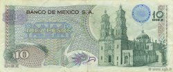 10 Pesos MEXIQUE  1969 P.063b TTB