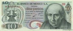 10 Pesos MEXIQUE  1971 P.063d SUP