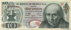 10 Pesos MEXIQUE  1974 P.063g TTB
