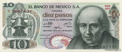 10 Pesos MEXIQUE  1974 P.063g SPL